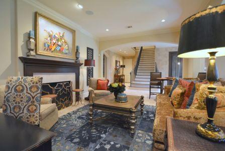 Living Room - Kaleidoscope Studio of Interior Design
